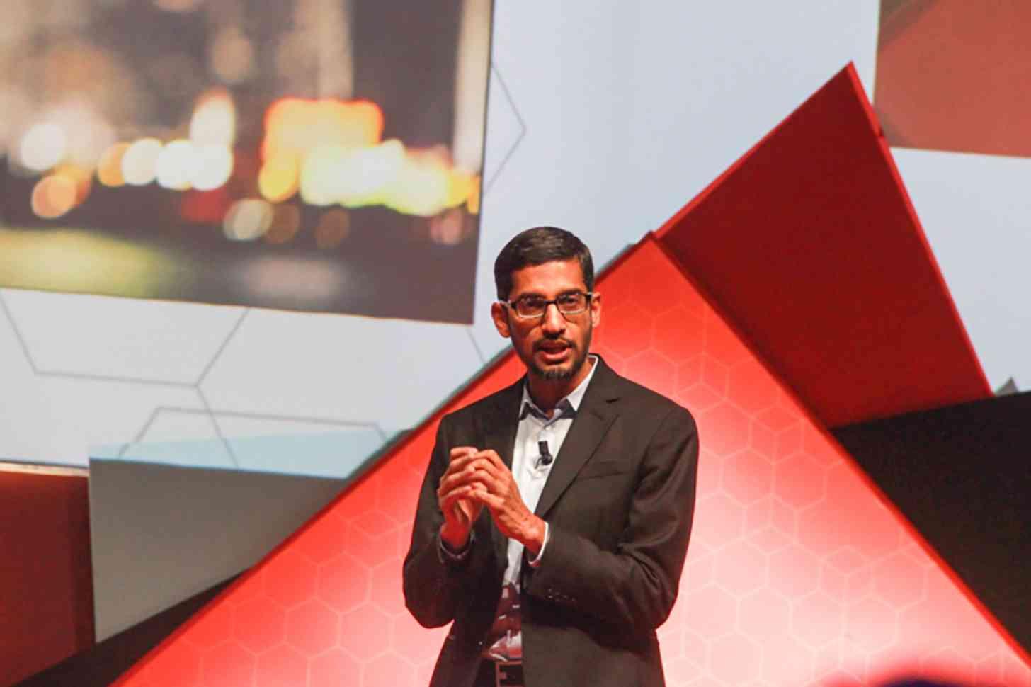 Google Sundar Pichai MWC 2015