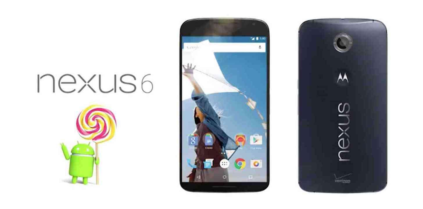 Verizon Nexus 6 official