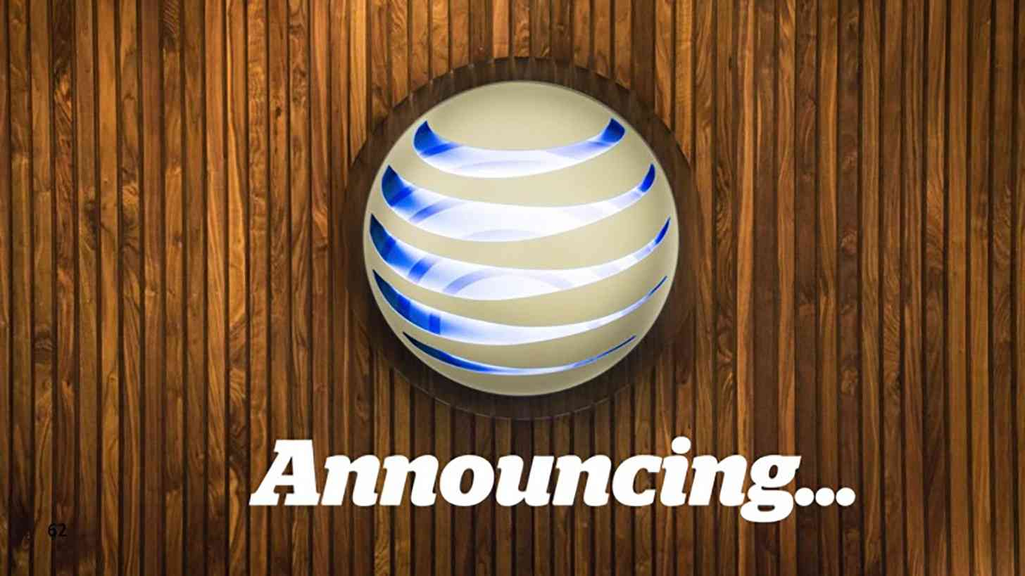AT&T announcing...