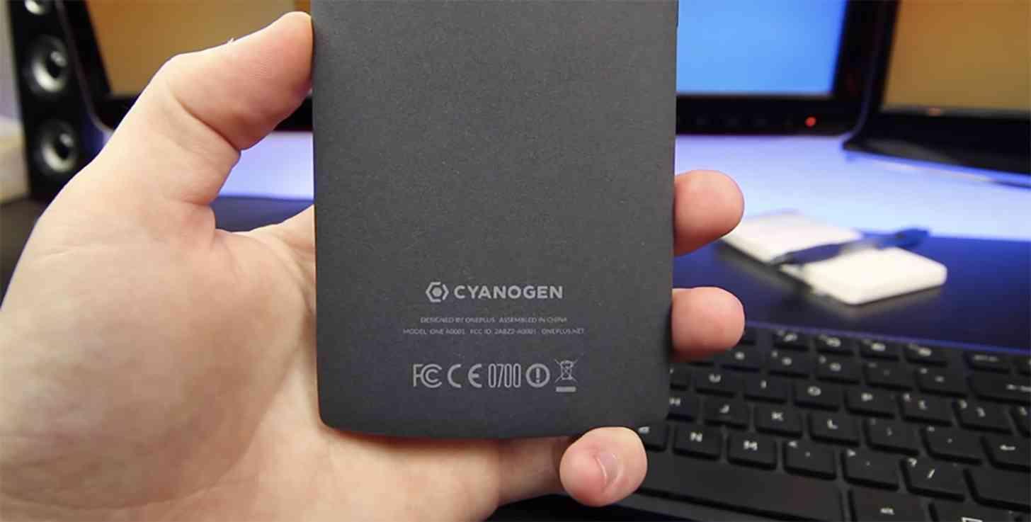 OnePlus One Cyanogen logo