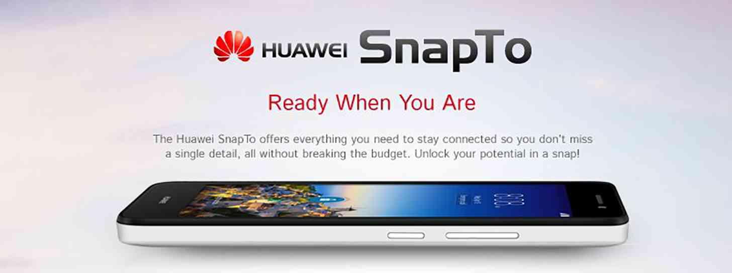 Huawei SnapTo Expo promo image