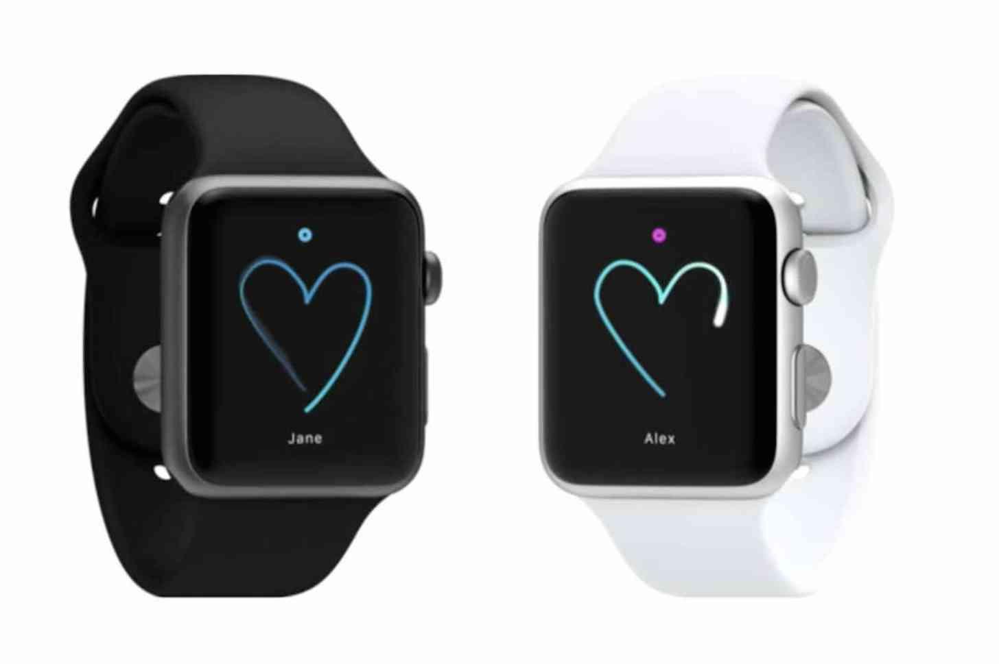 Apple Watch drawing