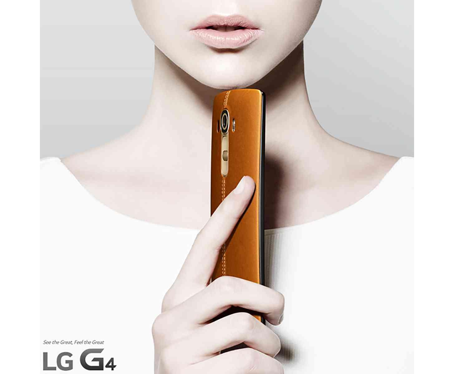 LG G4 leather back confirmed