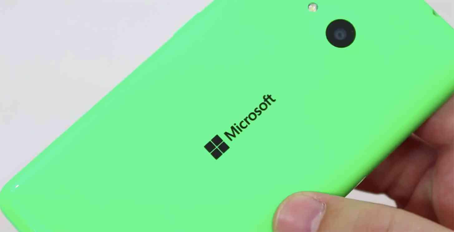 Microsoft Lumia 535 rear