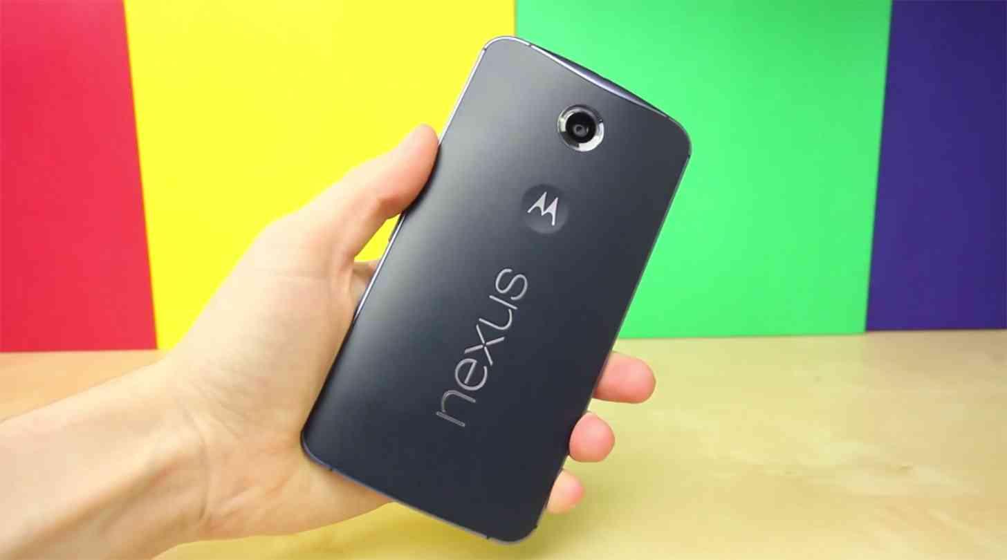 Nexus 6 rear