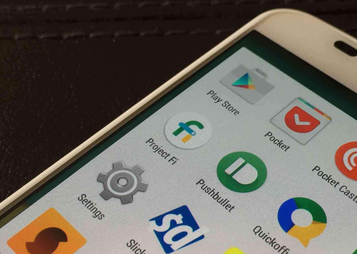 Project Fi app Moto X