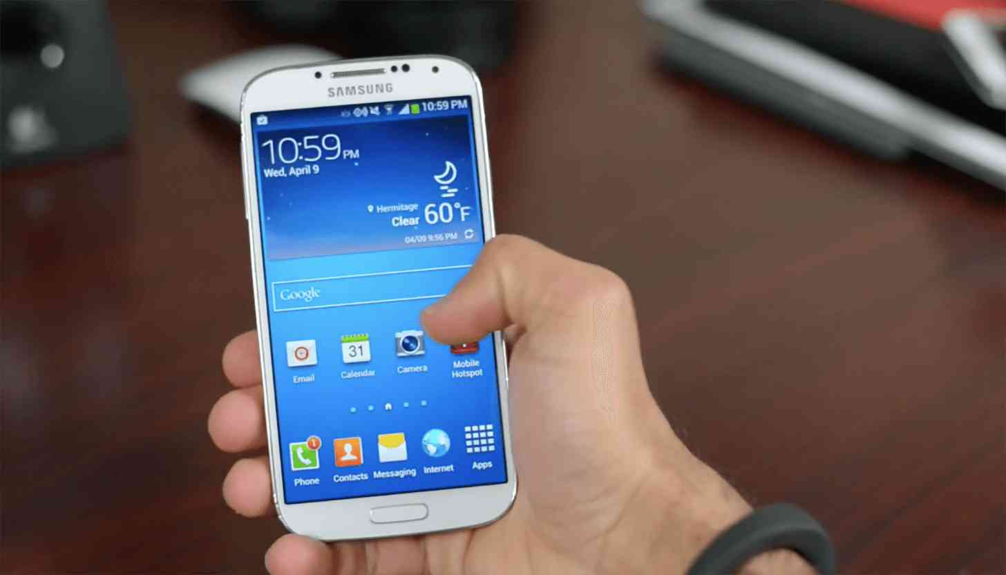 Samsung Galaxy S4 hands on