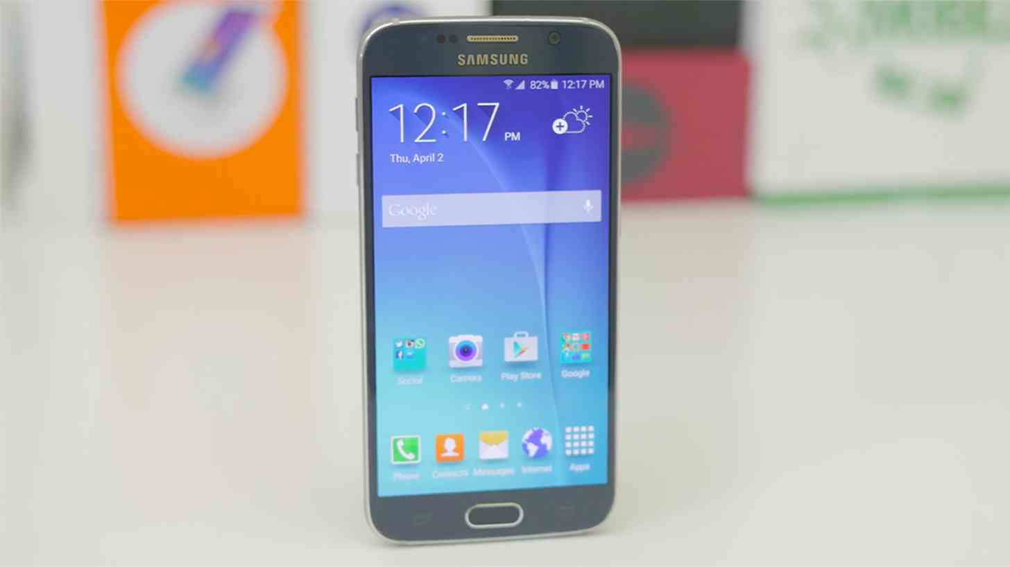 Samsung Galaxy S6 front