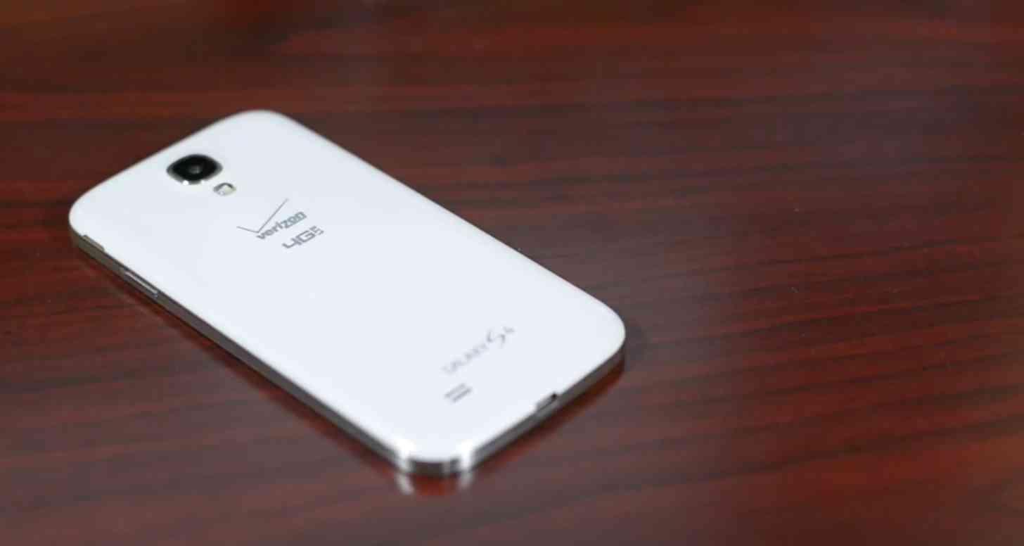 Verizon Samsung Galaxy S4 rear large