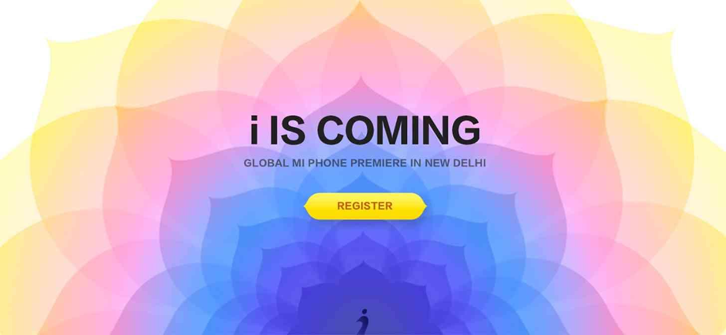 Xiaomi Mi smartphone New Delhi India April 23 event