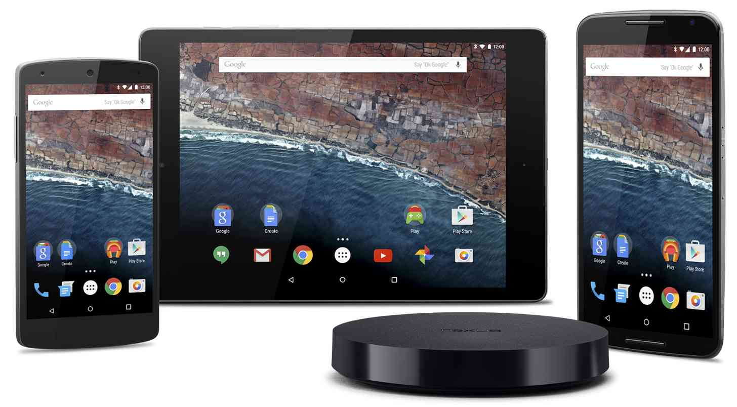 Android M Nexus devices
