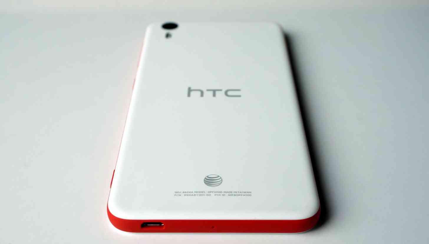 AT&T logo HTC Desire Eye