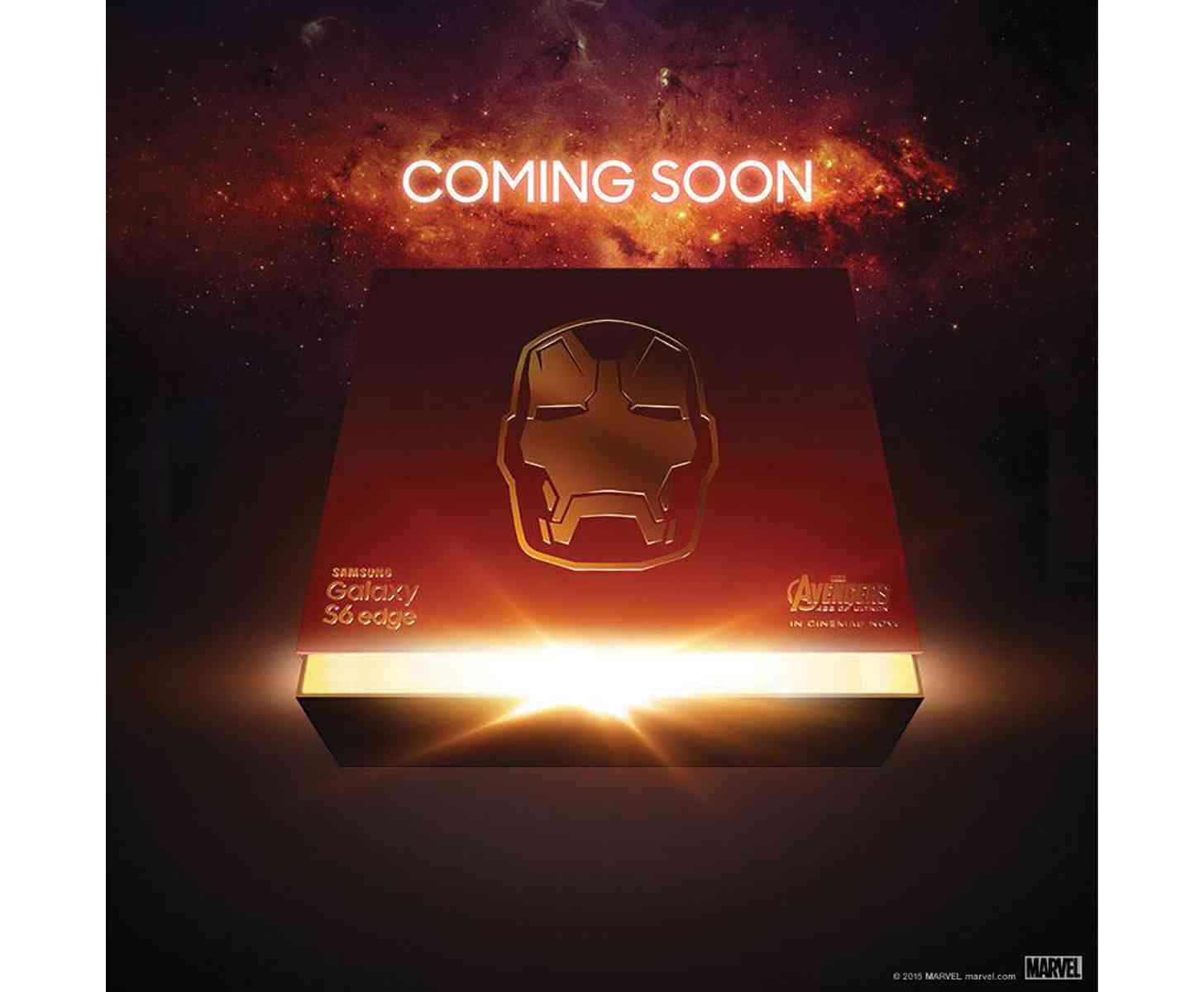 Iron Man Samsung Galaxy S6 edge teaser