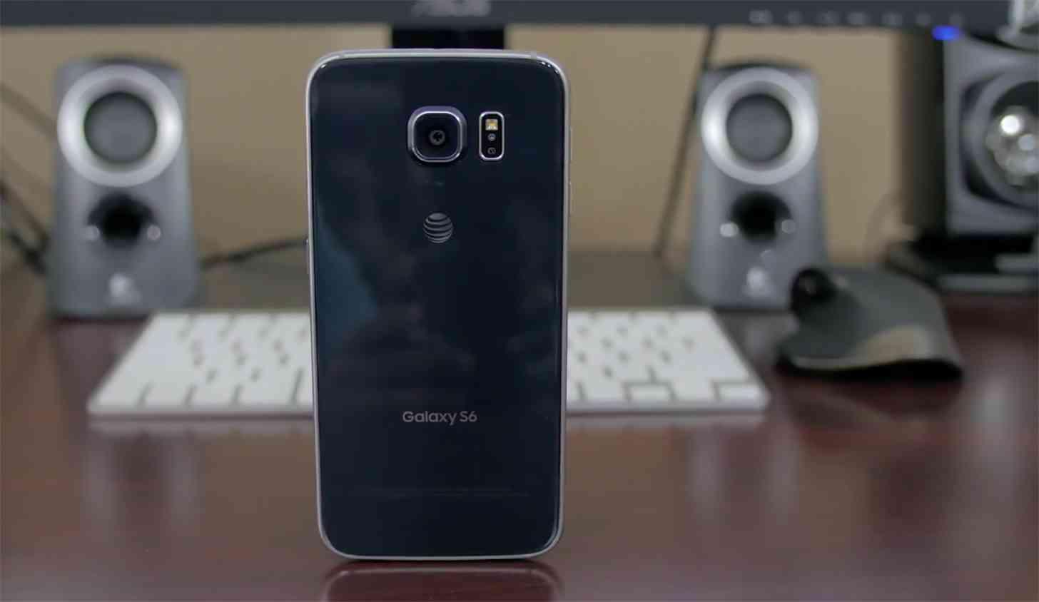 Samsung Galaxy S6 AT&T rear