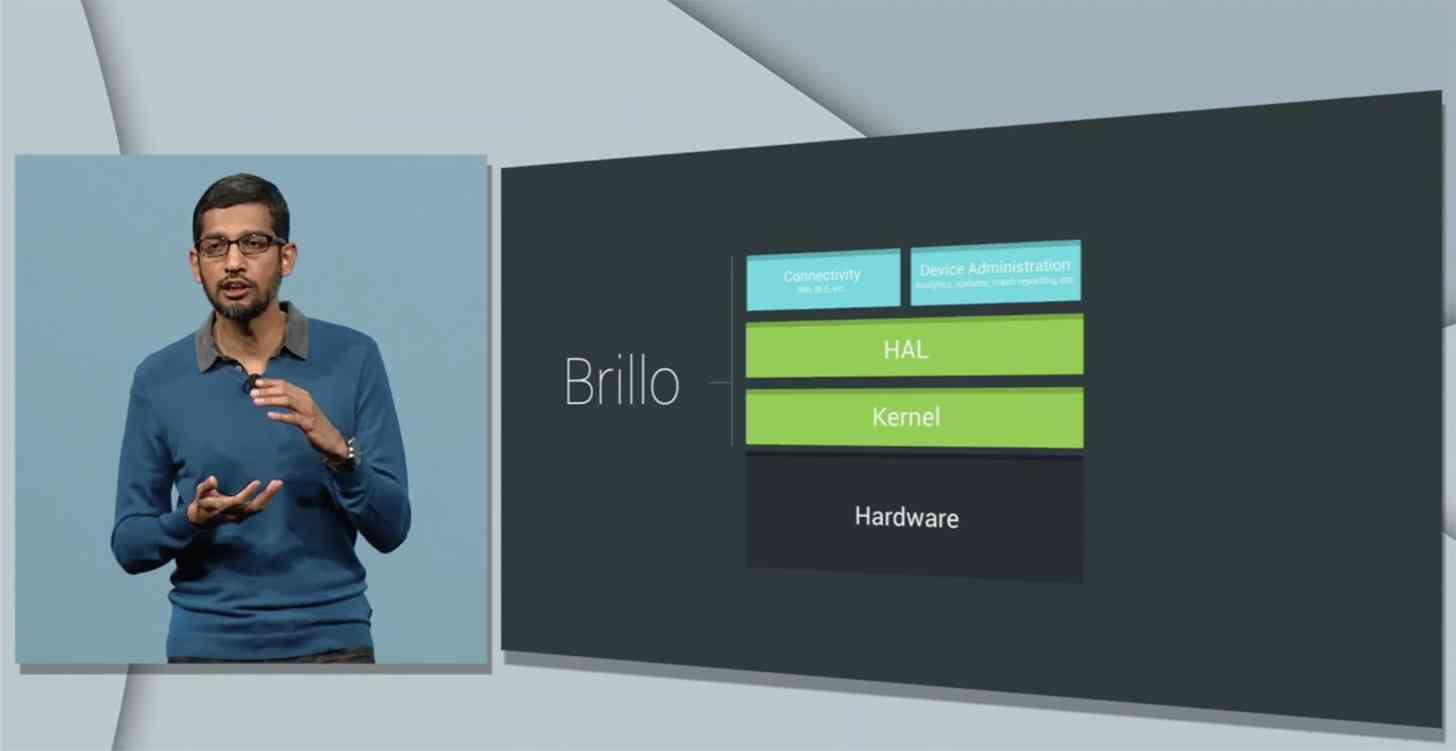 Google Brillo official I/O 2015