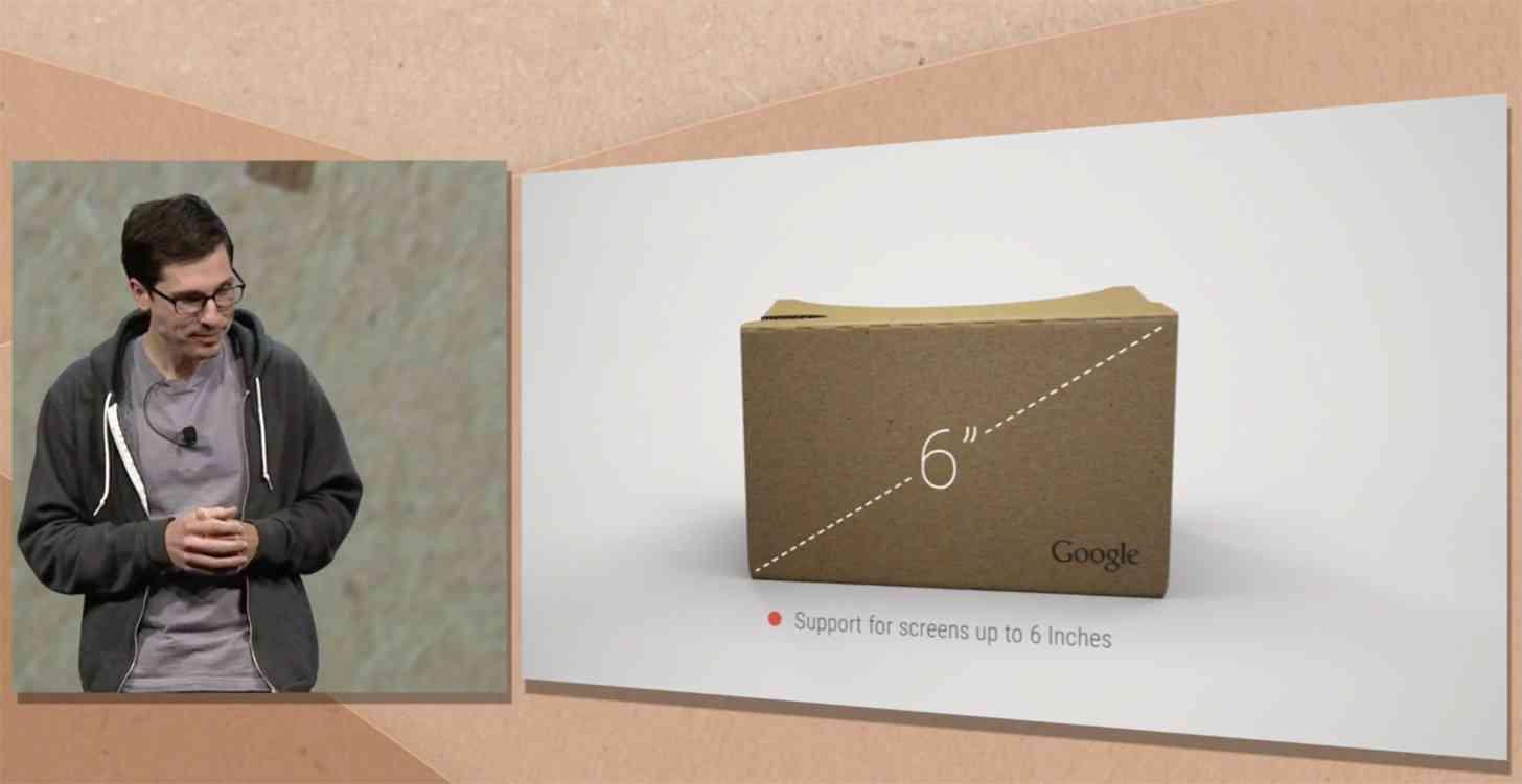 Google Cardboard hardware update I/O 2015