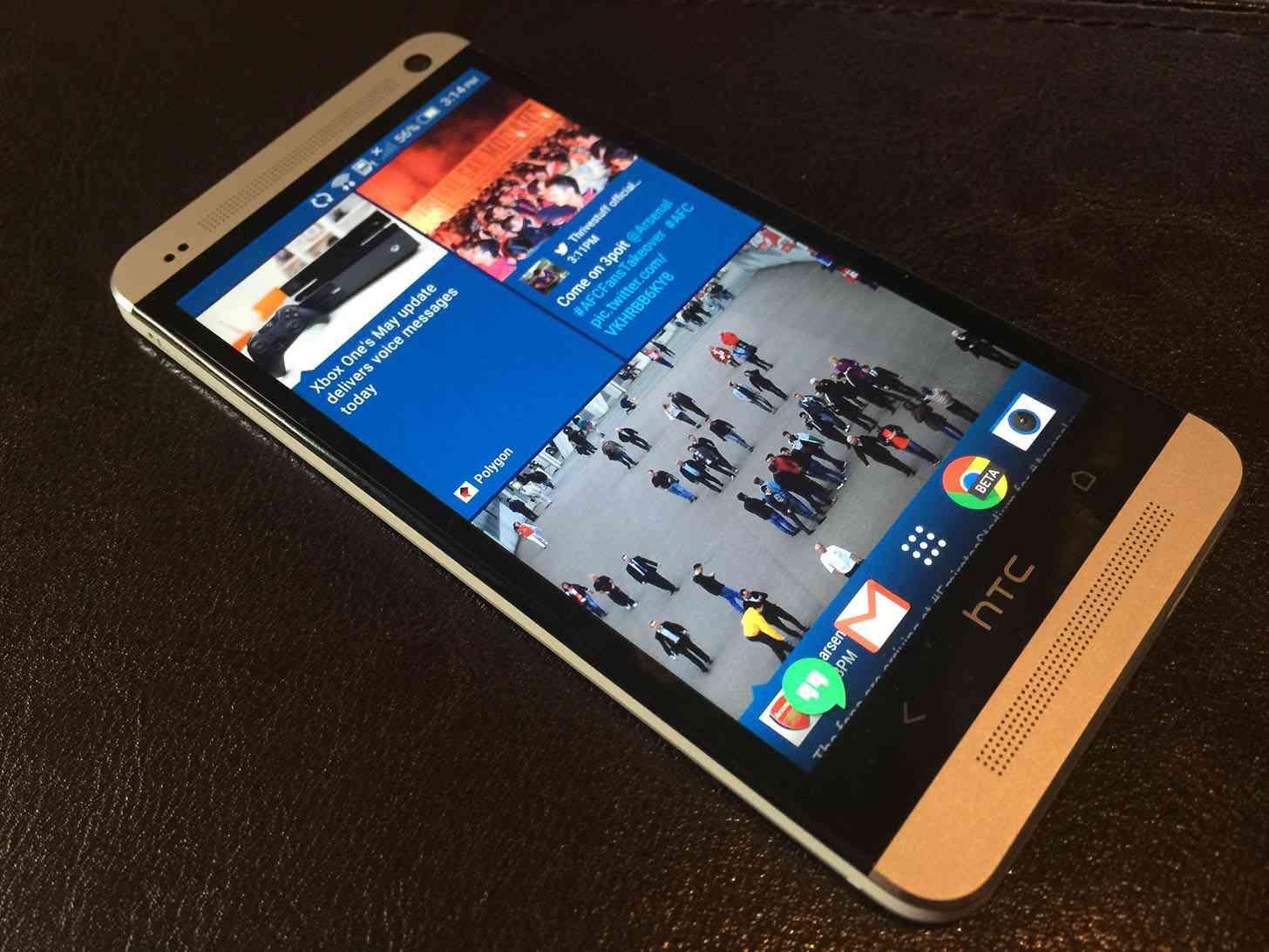 HTC BlinkFeed One M7