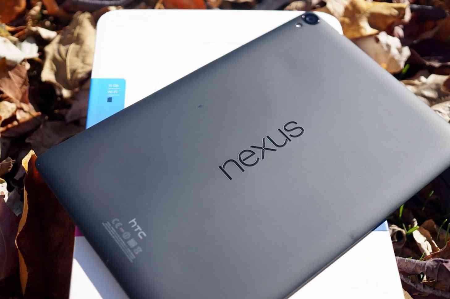 HTC Nexus 9 rear