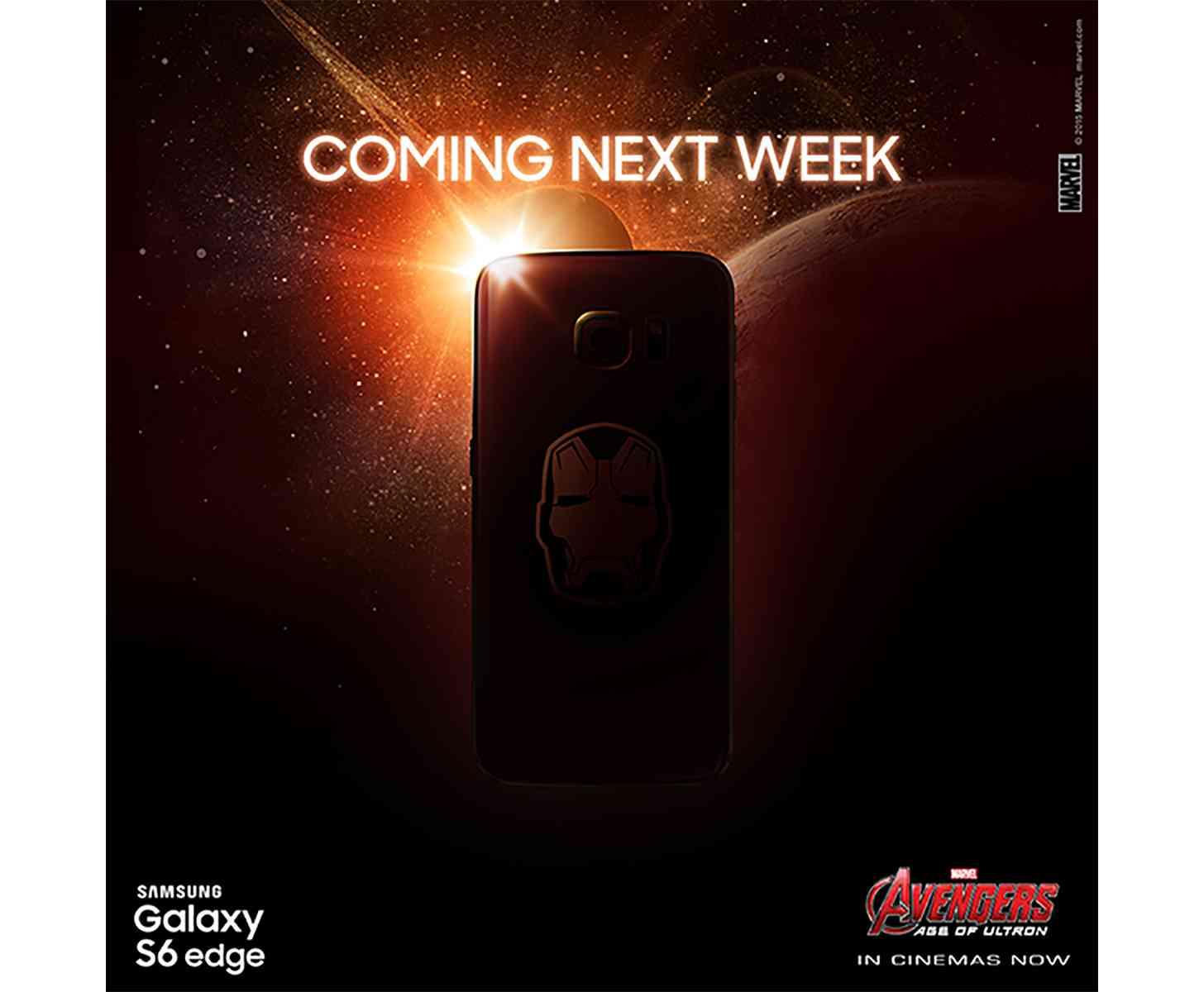 Iron Man Samsung Galaxy S6 edge large