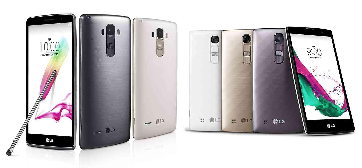 LG G4 Stylus LG G4 official