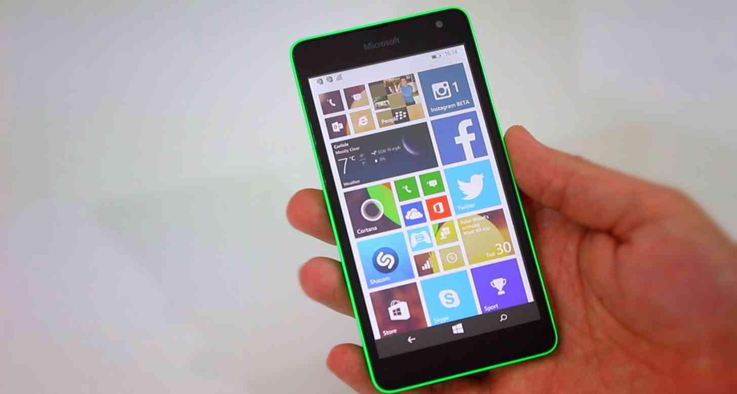 Microsoft Lumia 535 hands on