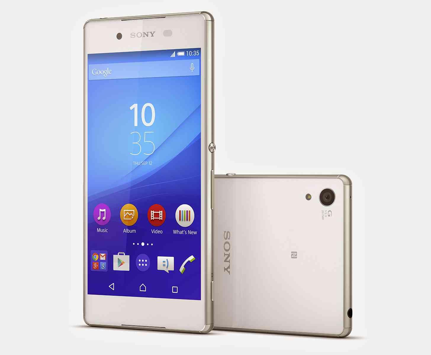 Sony Xperia Z3+ white large