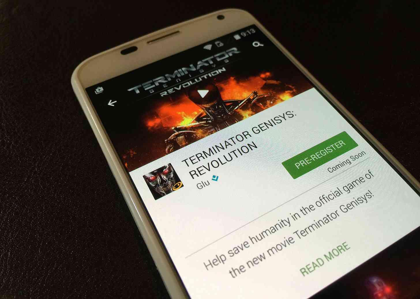 Terminator Genisys: Revolution Google Play pre-register