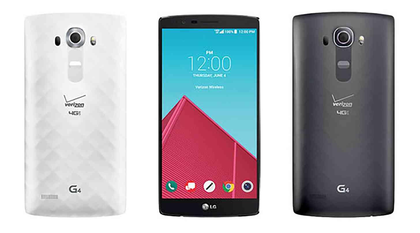 Verizon LG G4 official