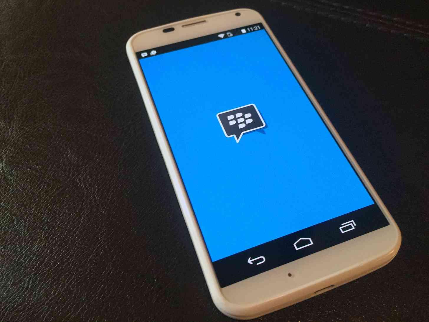 BBM Android app Moto X