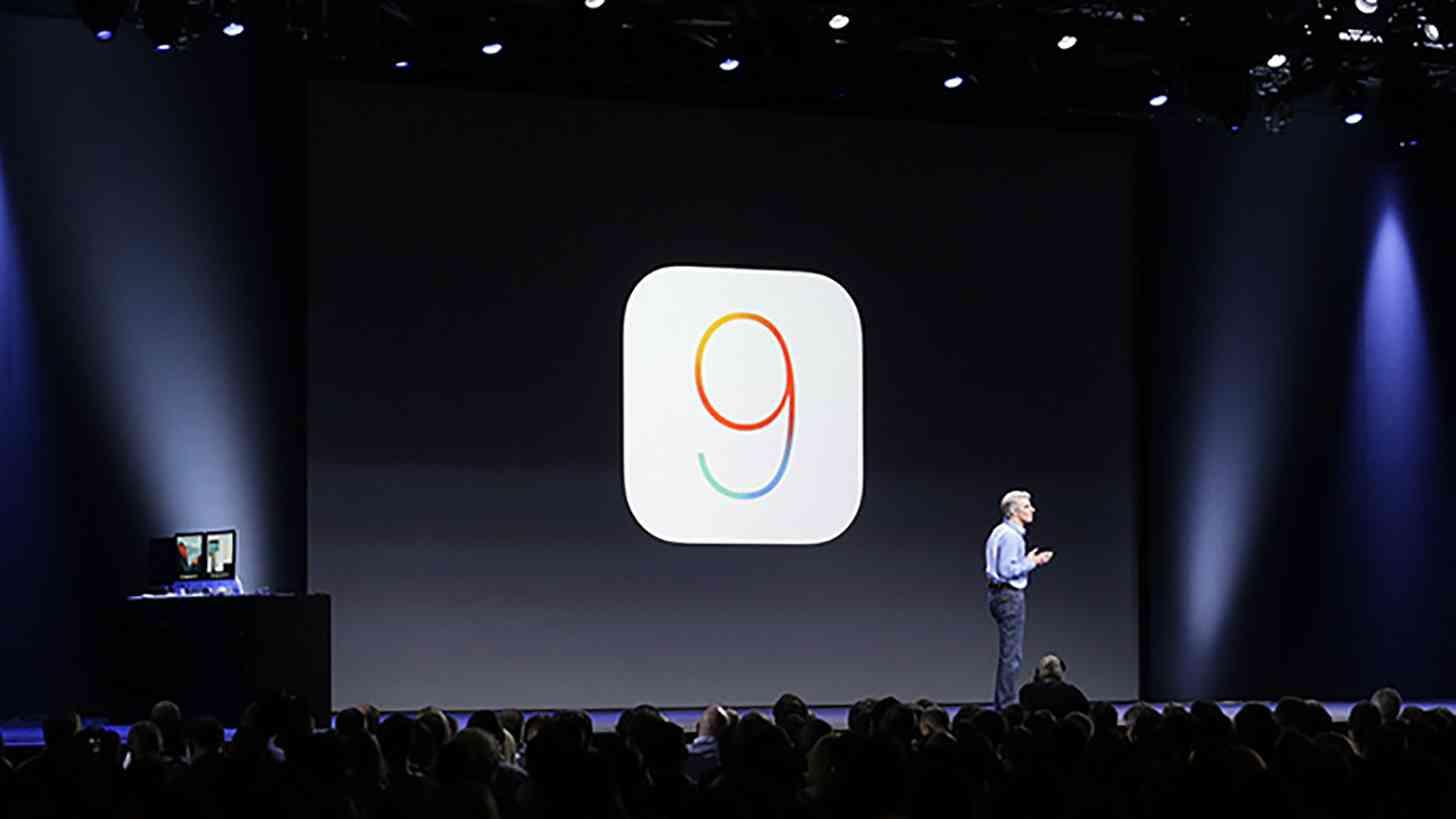iOS 9 announcement