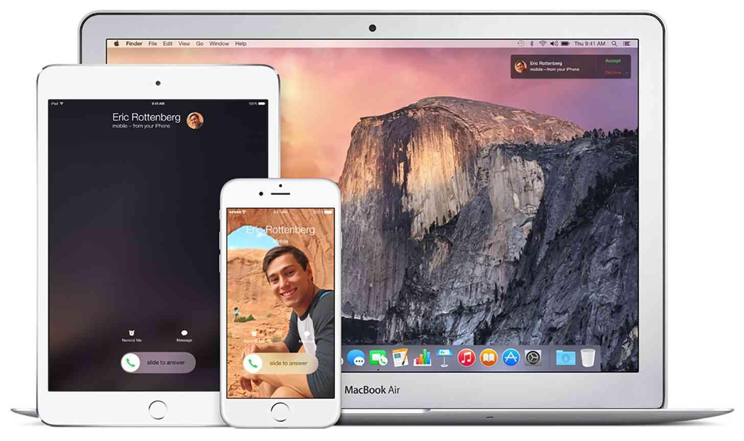iOS Mac Continuity