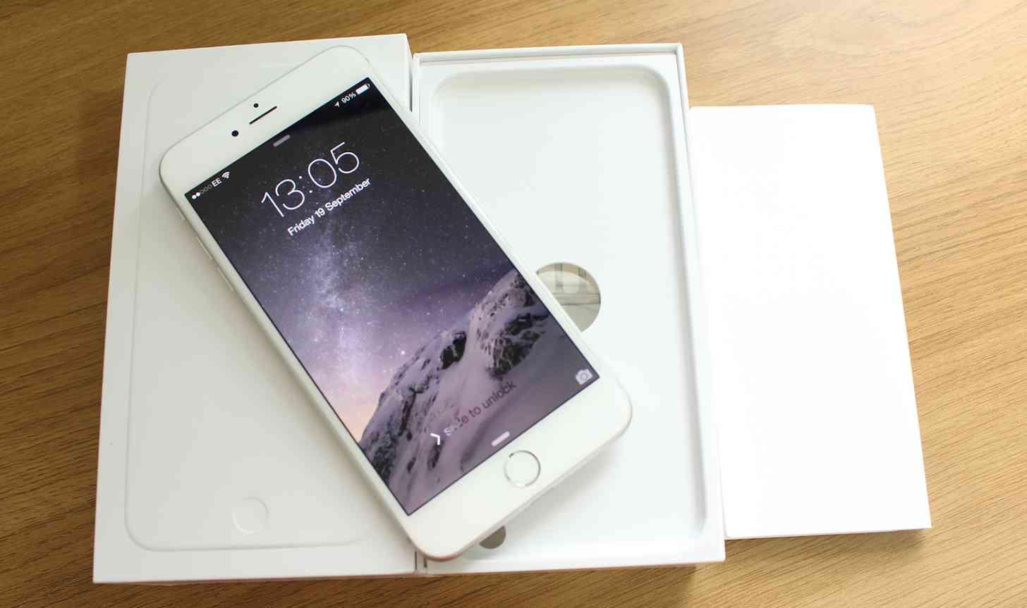iPhone 6 Plus unboxing