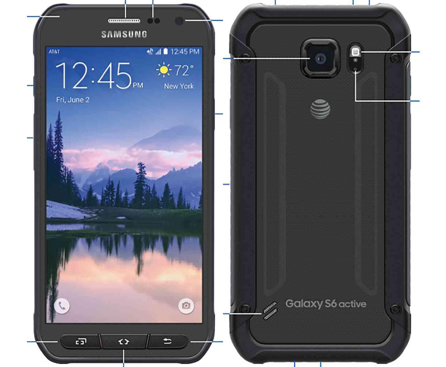 Samsung Galaxy S6 Active leak large