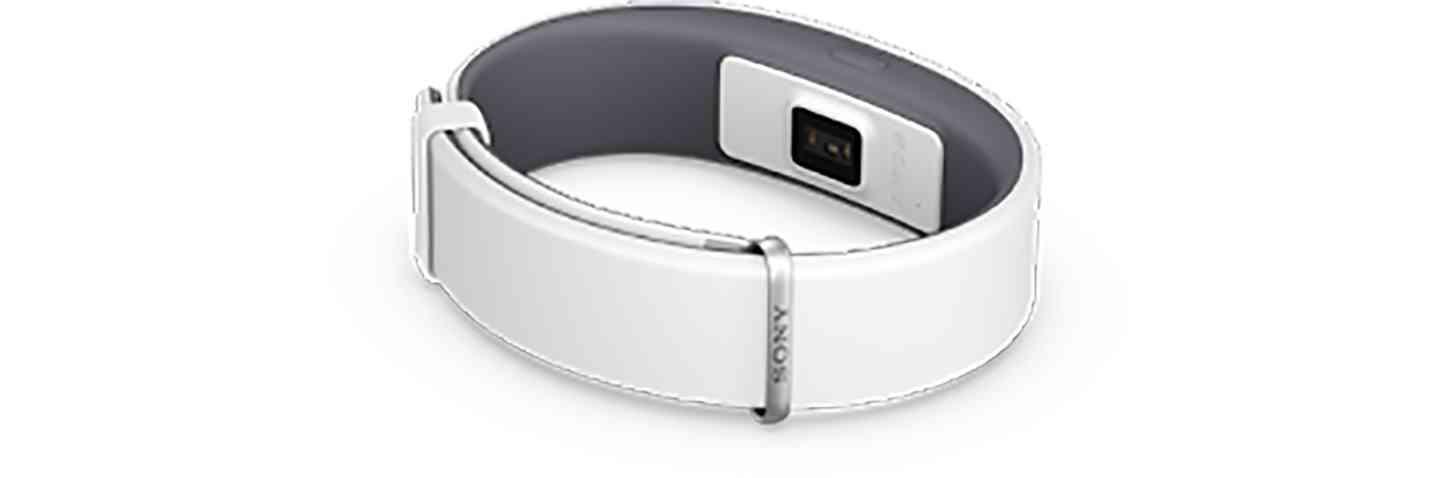 Sony SmartBand 2 white leak large