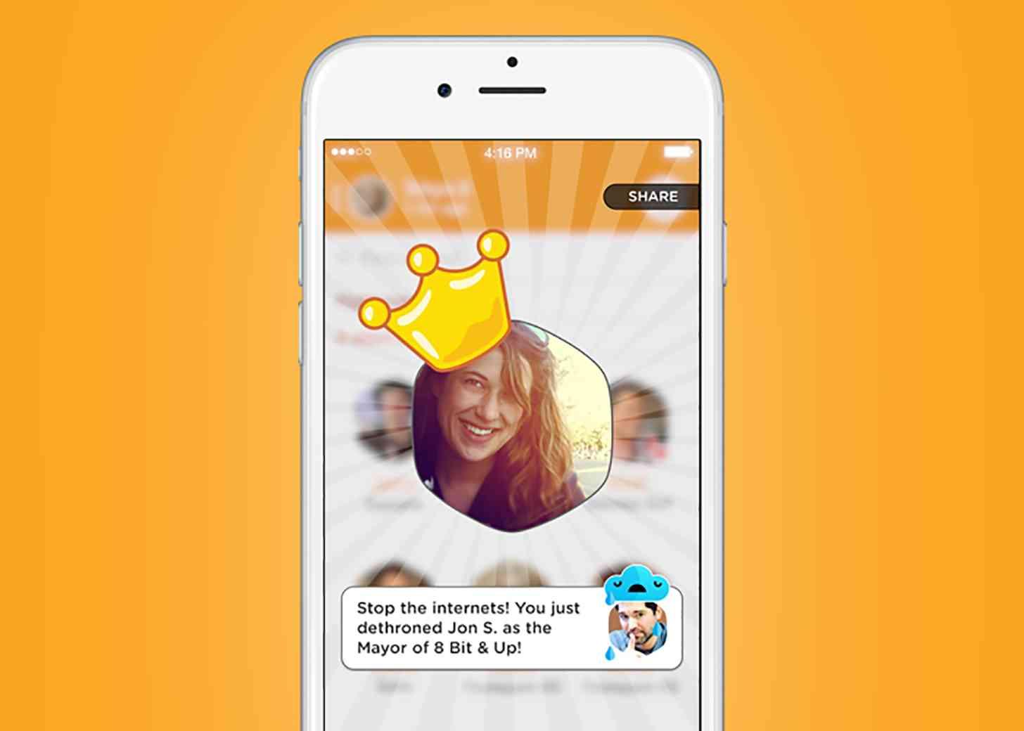 Swarm Mayorships Foursquare
