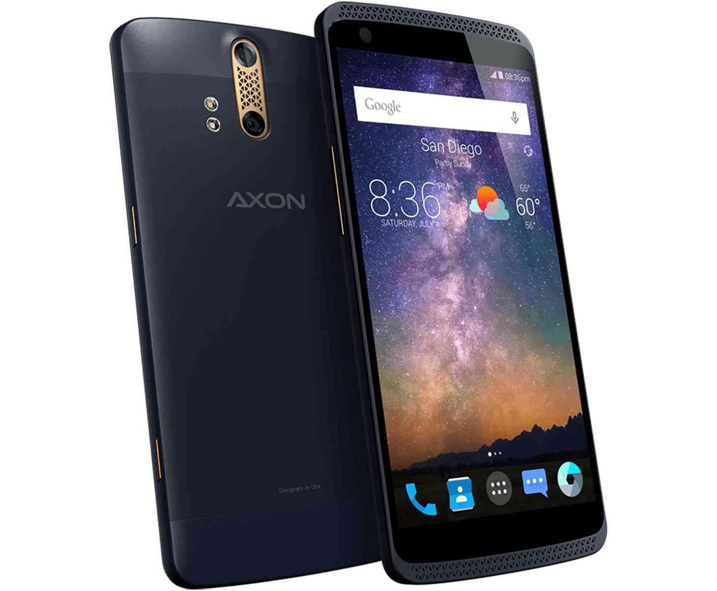ZTE Axon Phone blue official
