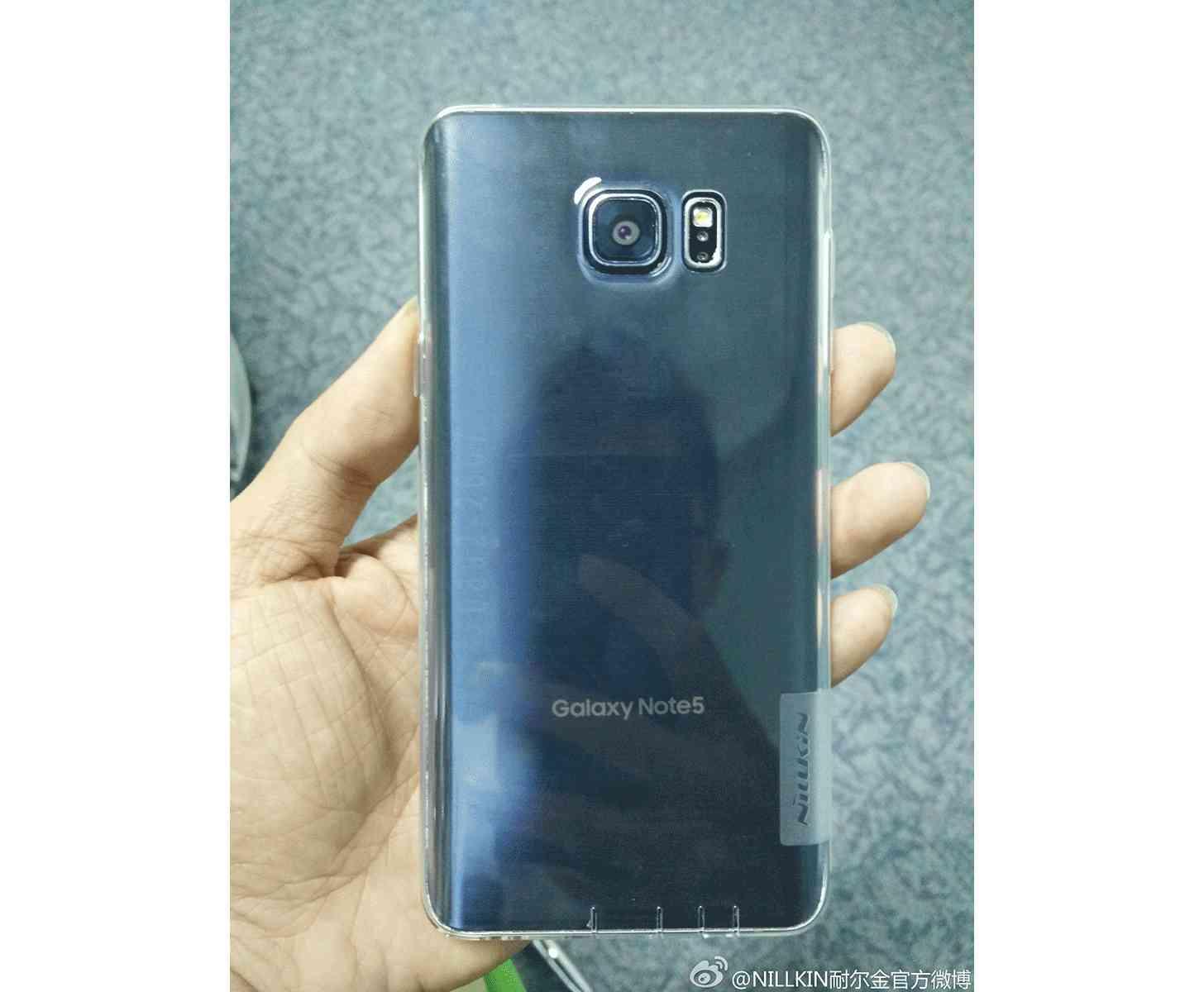 Samsung Galaxy Note 5 rear leak large