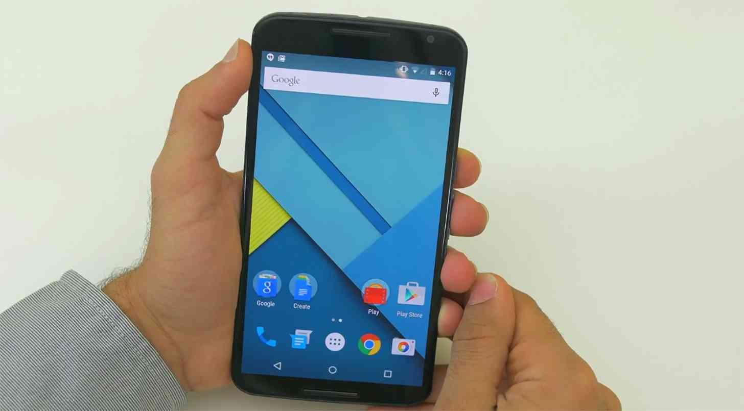 Nexus 6 hands on large