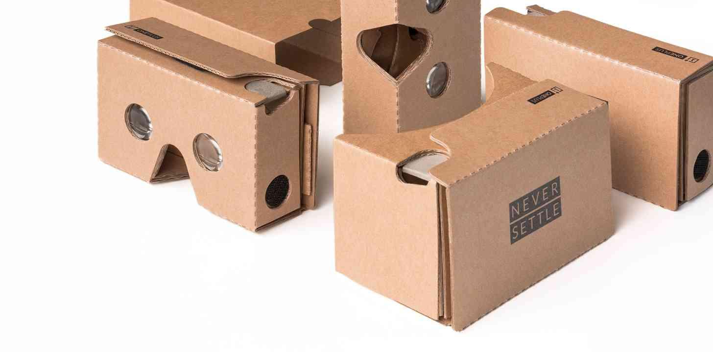 OnePlus Cardboard virtual reality VR viewer