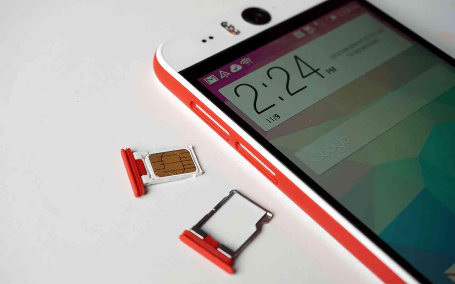 HTC Desire EYE SIM card