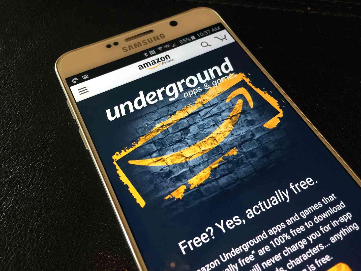 Amazon Underground Android app