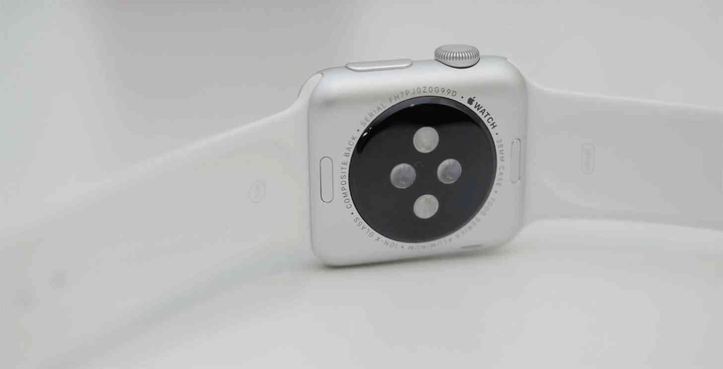 Apple Watch rear