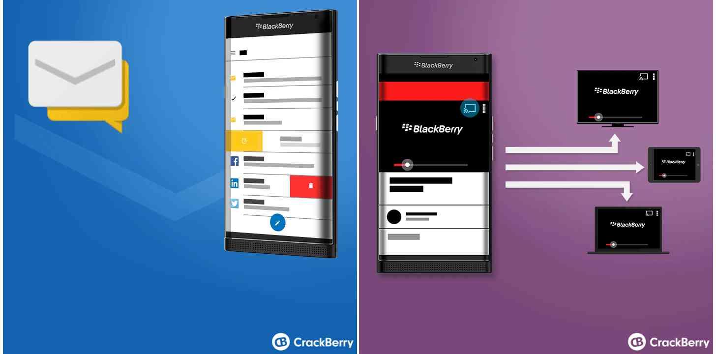 BlackBerry Venice renders leak
