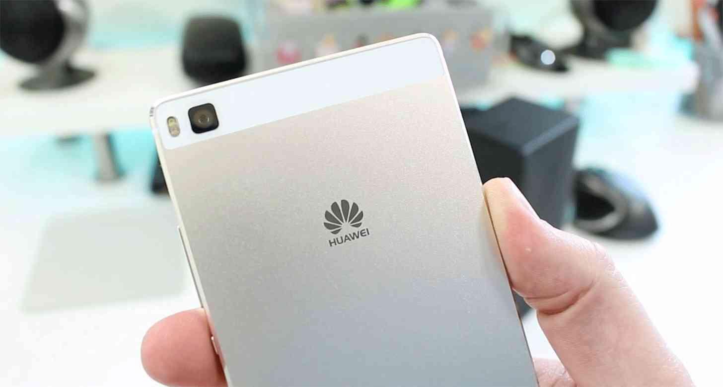 Huawei P8 rear