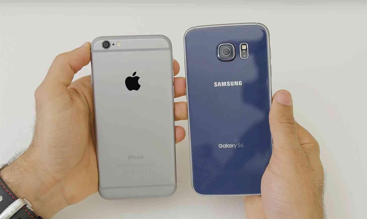 iPhone 6 Galaxy S6 pair
