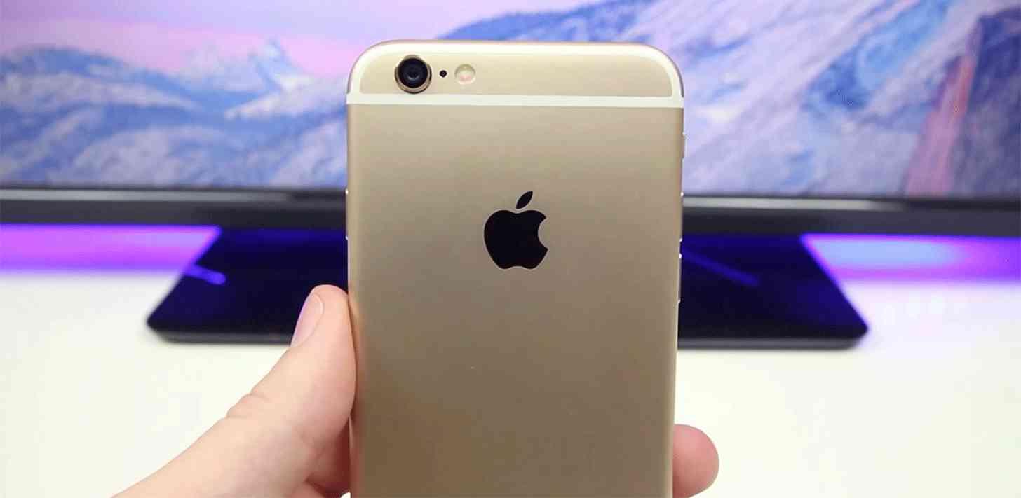 iPhone 6 rear close