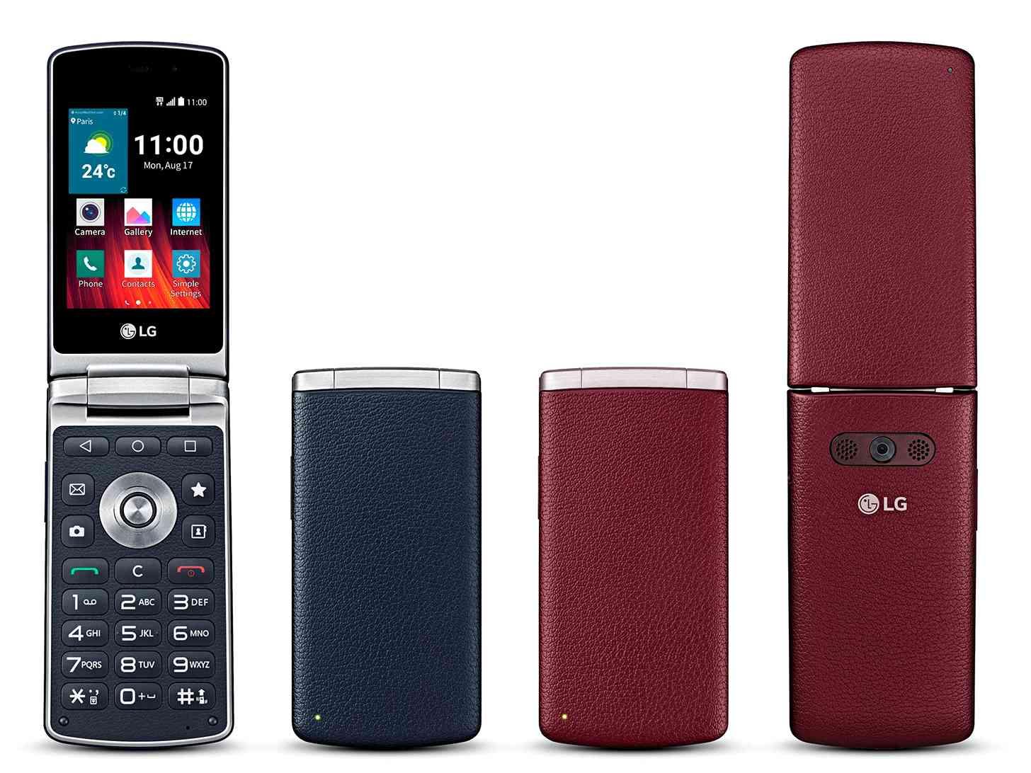 LG Wine Smart Android flip phone