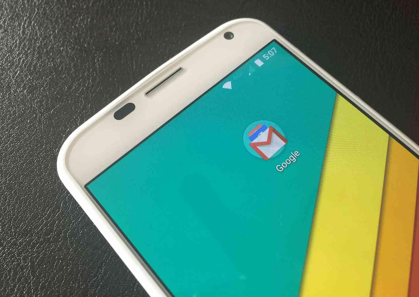 Moto X Google folder