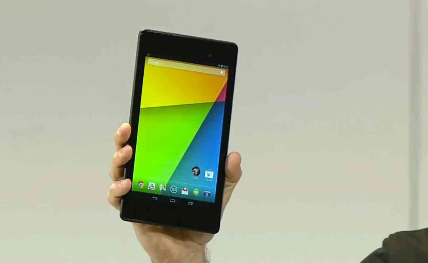 Nexus 7 2013 announcement