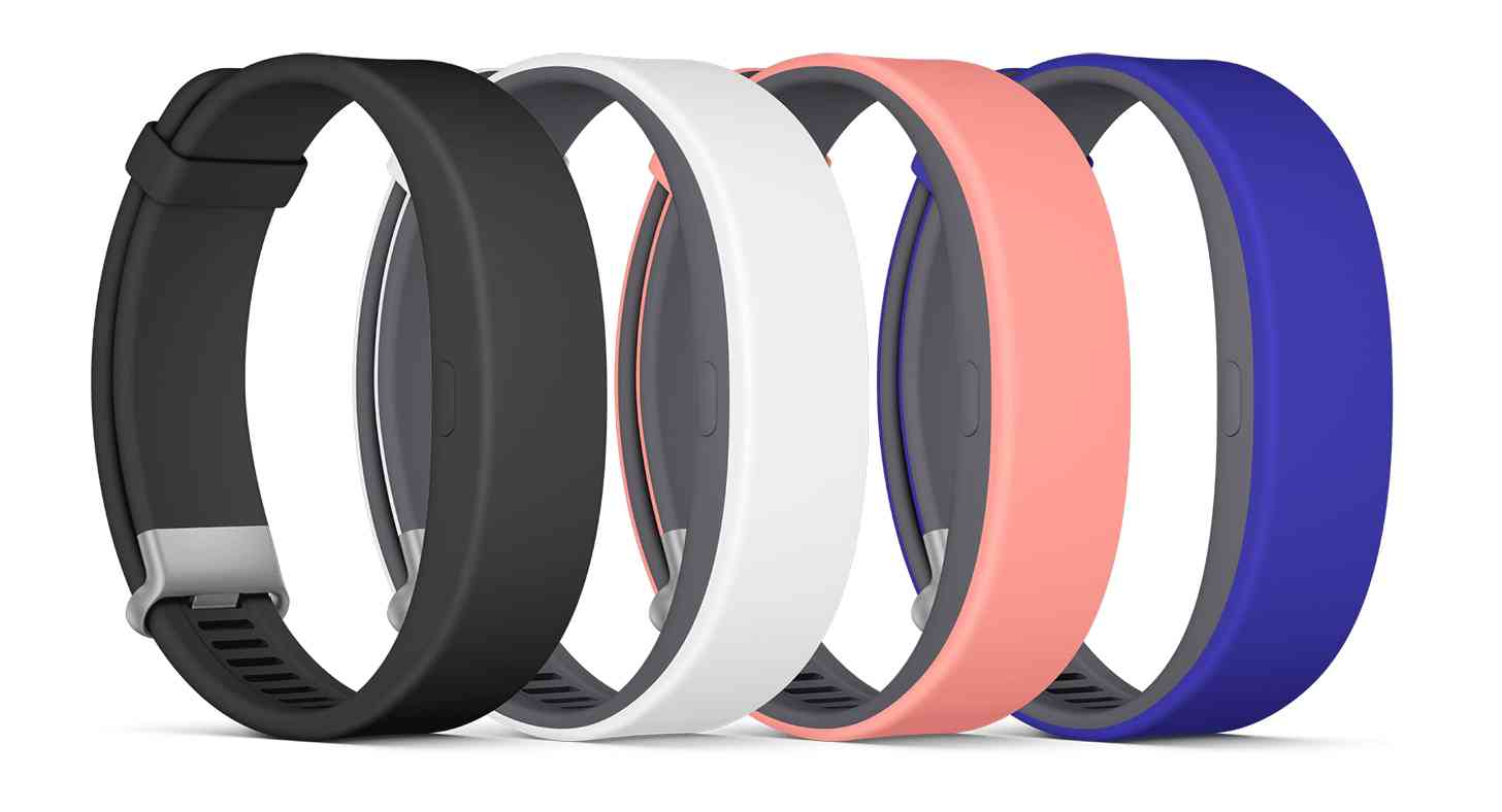 Sony SmartBand 2 colors large